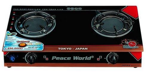 Bếp ga hồng ngoại Peace World