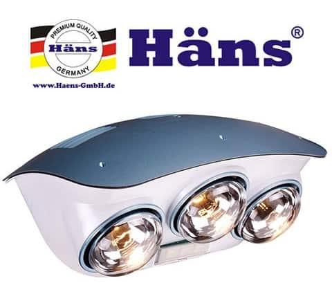 Đèn sưởi nhà tắm Hans