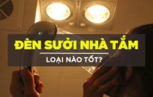Đèn sưởi nhà tắm loại nào tốt giữa Hans, Kohn và Kottmann?