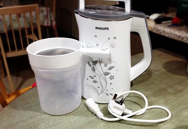 Dung tích máy làm sữa đậu nành